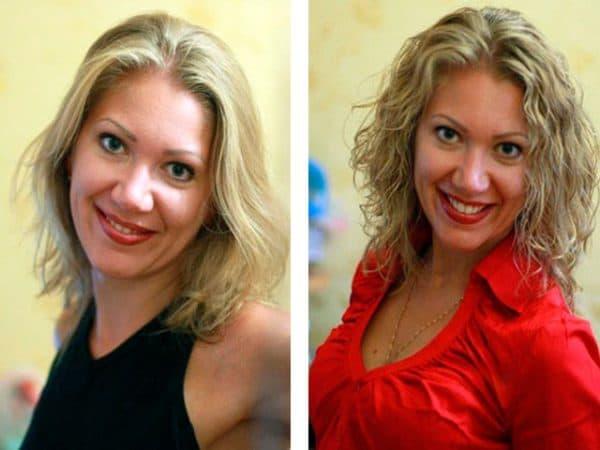 биозавивка на средние волосыБиозавивка на средние волосы