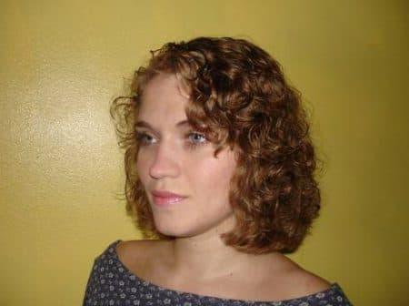 короткая причёска карвинг мокрый эффект