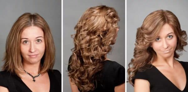 карвинг на средние мелированные волосы