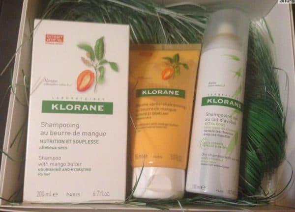 сухой шампунь для светлых волос Клоран