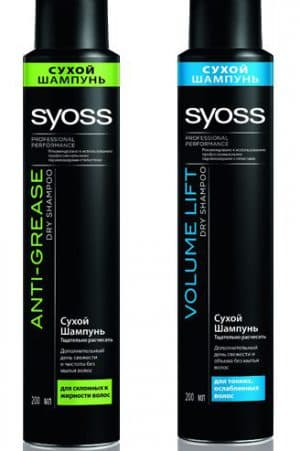 сухой шампунь для волос Syoss
