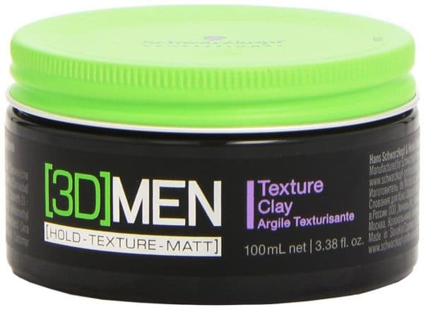 глина для волос для укладки для мужчин Texture Clay
