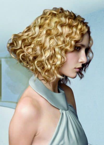 кислотная мокрая химия на средние волосы