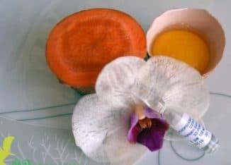 аскорбиновая кислота и желток яйца