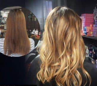 окрашивание пористых волос