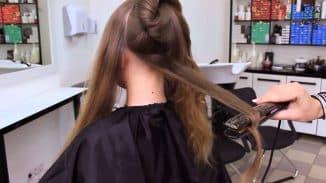 стрижка пористых волос