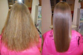 пористые волосы гладкие
