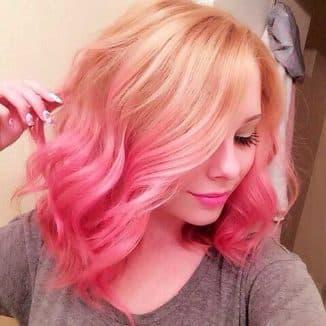 смыть цветную краску с волос