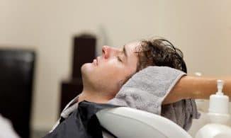 мытьё длинных мужских волос