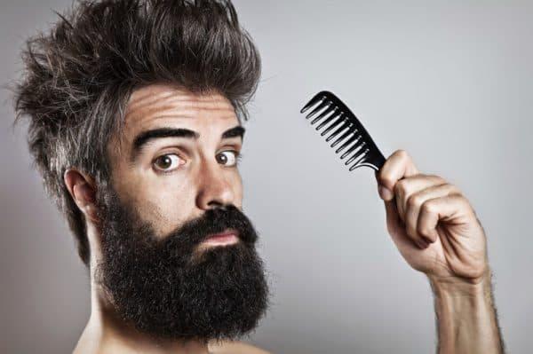 массаж длинных мужских волос
