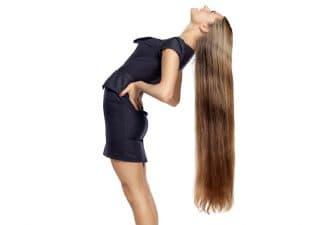 красивые длинные волосы