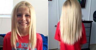 отрастить волосы ребёнку