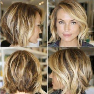 брондирование на короткие волосы