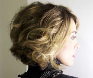 брондирование на светлые короткие волосы