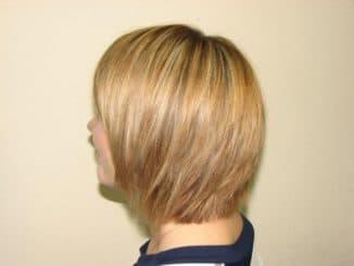 брондирование на очень короткие волосы