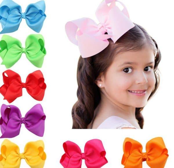 бантики для волос для девочек