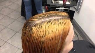 мёд на волосы