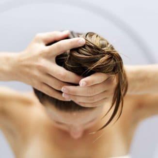 яичная маска для массажа головы